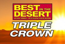 Best in the Desert Triple Crown Logo