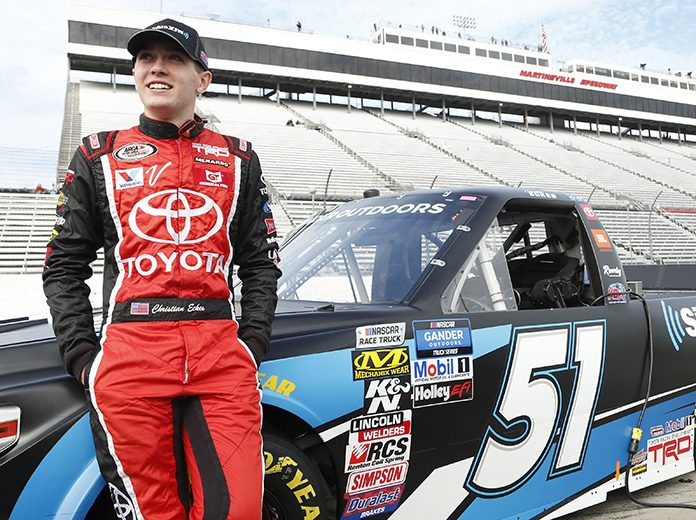 Christian Eckes will race full-time for Kyle Busch Motorsports in the Truck Series beginning in 2020. (Toyota Photo)