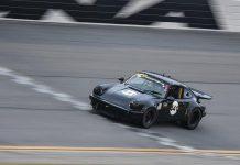 Todd Treffert on track Thursday at Daytona Int'l Speedway in his Speedconcepts 1974 No. 441 Porsche 911 IROC.