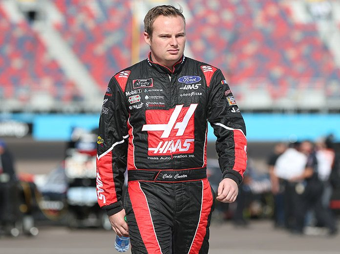 Cole Custer is bound for the Monster Energy NASCAR Cup Series in 2020. (NASCAR Photo)