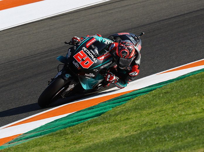 Fabio Quartararo will start from the pole for the final MotoGP event of the season. (MotoGP Photo)