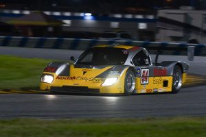 Forest Barber and Terry Borcheller were among the co-drivers of the 2003 No. 54 Doran JE4 Daytona Prototype.