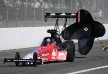 Doug Kalitta took home the Top Fuel Wally Sunday at Auto Club Raceway at Pomona. (NHRA Photo)