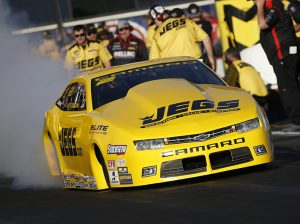 Jeg Coughlin Jr. picked up his second victory of the season in Pro Stock on Sunday. (NHRA Photo)