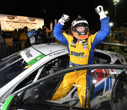 If he scores one more victory, Bill Auberlen will stand alone at the top of IMSA's all-time victory list. (IMSA Photo)