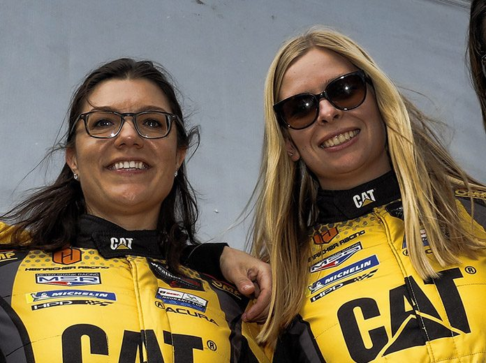 Katherine Legge and Christina Nielsen will drive a Lamborghini Huracan GT3 EVO fielded in partnership between GEAR Racing and Grasser Racing Team. (IMSA Photo)