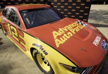 Advance Auto Parts will sponsor Ryan Blaney in four NASCAR Cup Series events in 2020.
