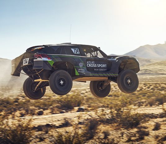 Volkswagen has targeted the 2020 Baja 1,000 with the Atlas Cross Sport R race truck. (Volkswagen Photo)