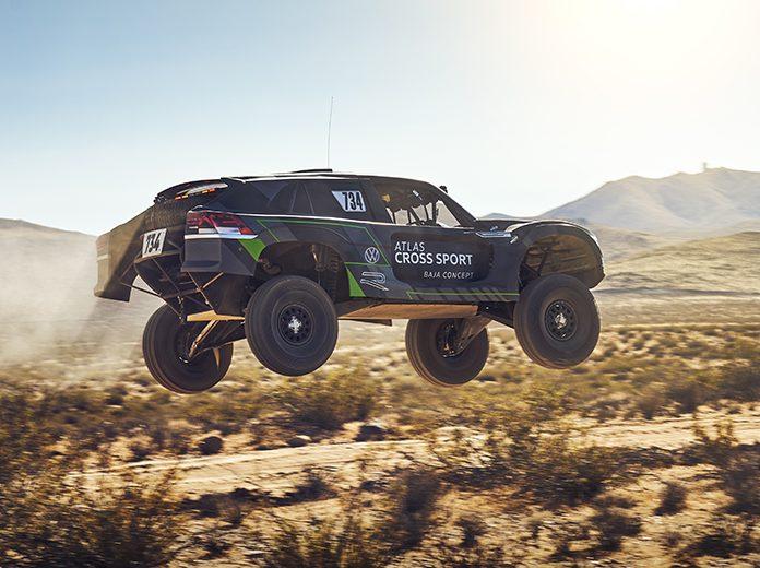 Volkswagen has targeted the 2020 Baja 1,000 with the Atlas Cross Sport R race truck. (Volkswagen Photo)