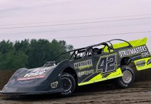 Chad Finley will turn his attention to the American Ethanol Late Model Tour next year. (Jim Denhamer Photo)
