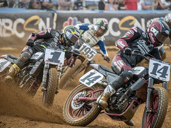 NBC and American Flat Track have extended their television partnership. (Scott Hunter/AFT Photo)