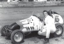 A.J. Foyt is a three-time winner of the Turkey Night Grand Prix.