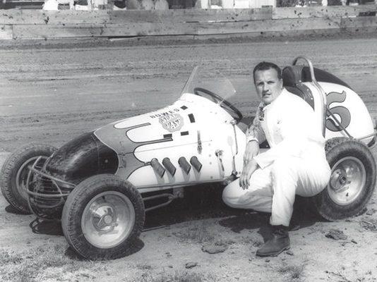 A.J. Foyt is a three-time winner of the Turkey Night Grand Prix.