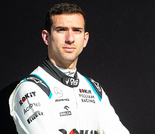 Nicholas Latifi will join Williams Racing for the full Formula One schedule in 2020. (Williams Photo)