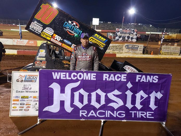 Terry Gray scored two wins en route to the USCS National Championship in 2019.