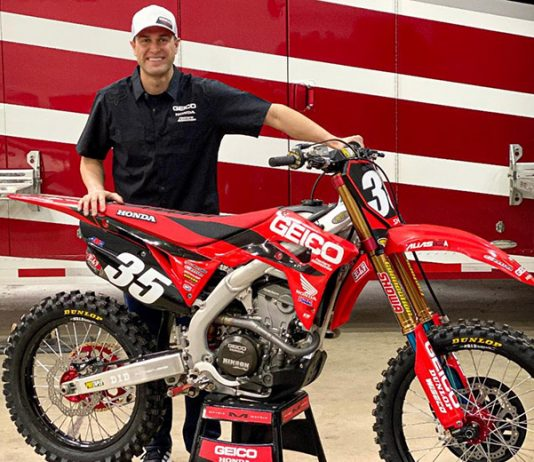 Ryan Dungey has become the co-owner of the GEICO Honda supercross/motocross team.