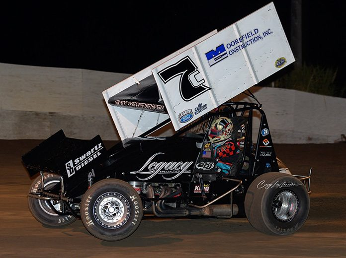 Justyn Cox will drive for C&M Motorsports in 2020.