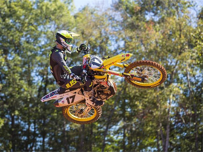 Joey Savatgy will be among the riders for the JGRMX/Yoshimura/Suzuki Factory Racing team in 2020. (Suzuki Photo)