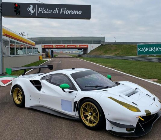 WeatherTech Racing got to try out its new Ferrari 488 GT3 Evo on Thursday in Italy.