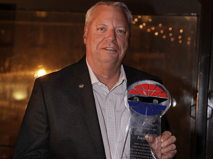 Ed Clark has been named the recipient of the O. Bruton Smith Award.