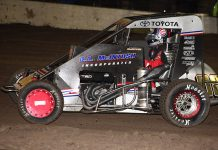 Dave Mac Motorsports will field four cars during the Chili Bowl. (Richard Bales Photo)