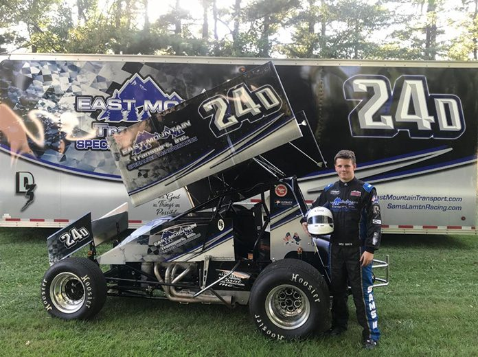 Danny Sams III will embark on the full Lucas Oil American Sprint Car Series schedule in 2020.