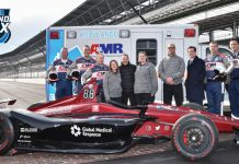 Global Medical Response will sponsor the annual NTT IndyCar Series road race at Indianapolis Motor Speedway.