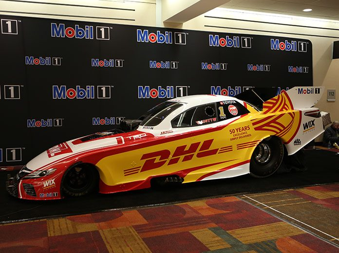 Mobil 1 has become the official lubricant partner of Kalitta Motorsports. (Adam Fenwick Photo)