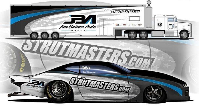 Strutmasters Backing Bo Butner
