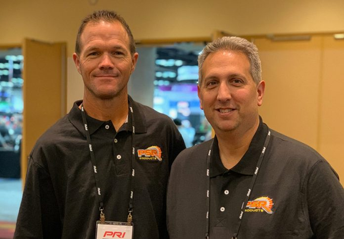 Jeremy Gerstner (left) will drive for Phil Stefanelli (right) and PSR Racing during the World Series of Asphalt Stock Car Racing.