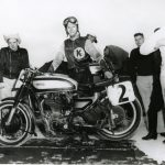 Dick Klamfoth, a three-time Daytona 200 winner, has died at the age of 91. (AMA Motorcycle Hall of Fame Photo)