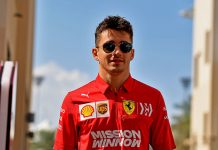 Charles Leclerc has signed a five-year contract extension to remain with Ferrari. (Ferrari Photo)