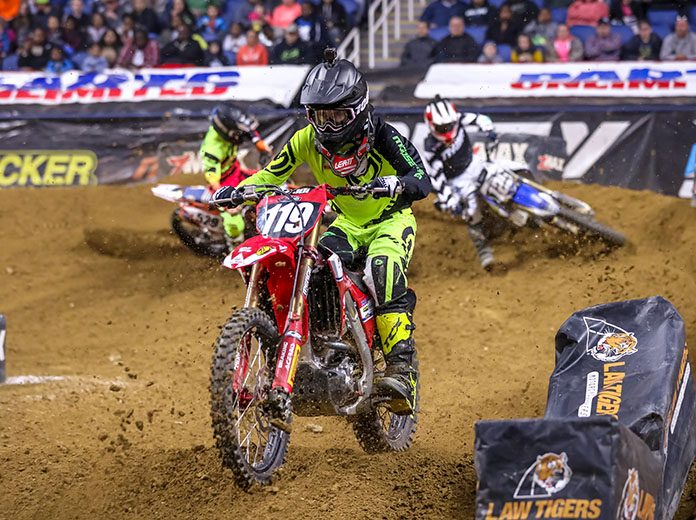 The American Motorcycle Ass'n will sanction the Kicker Arenacross Series in 2020.