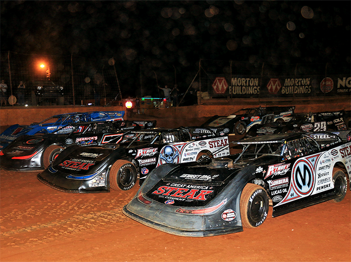 The World of Outlaws Morton Buildings Late Model Series season begins this weekend in Vado, N.M. (Richard Barnes Photo)