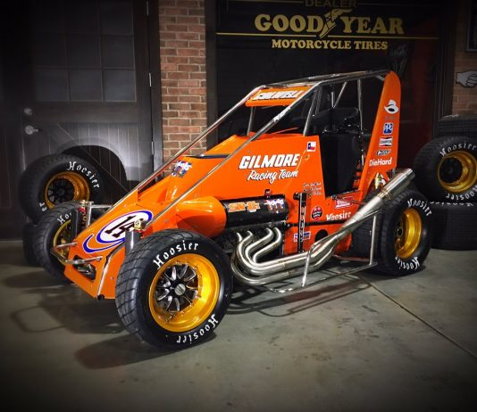 Team Ripper Racing and driver Jesse Colwell will honor A.J. Foyt with a throwback scheme during the Chili Bowl.