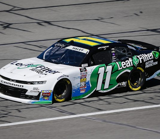 LeafFilter will continue to sponsor Kaulig Racing and Justin Haley in 2020. (HHP/Barry Cantrell Photo)