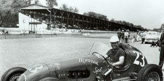 Cliff Griffith at Indianapolis Motor Speedway in 1951. (IMS Photo)