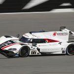 Olivier Pla put the No. 77 Mazda DPi entry at the top of the speed charts Sunday at Daytona Int'l Speedway. (IMSA Photo)