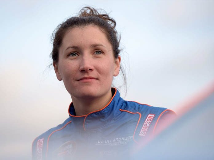 Julia Landauer has landed a full-time ride in the NASCAR Whelen Euro Series.