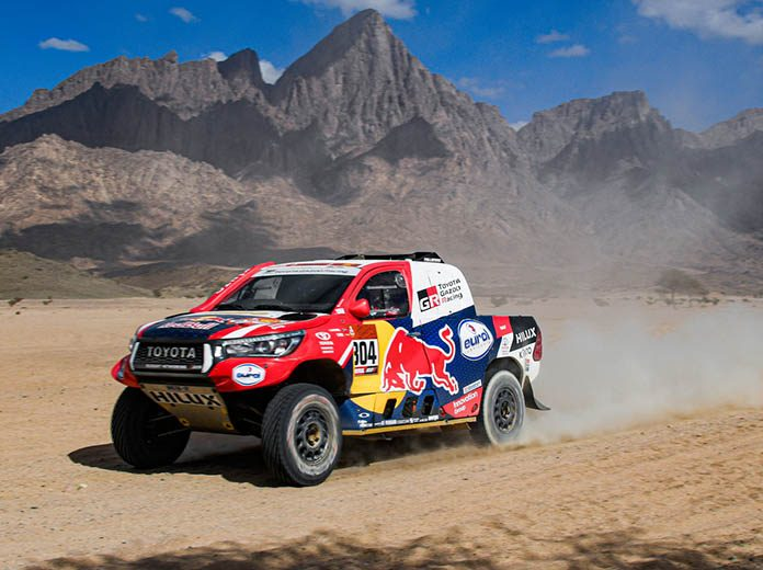 Giniel de Villiers picked up the stage victory during the second day of the Dakar Rally on Monday. (Dakar Rally Photo)