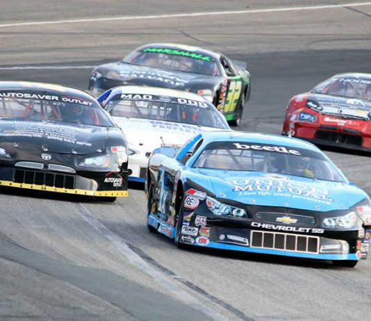 The American-Canadian Tour has created the New England Late Model Challenge Cup. (Alan Ward Photo)