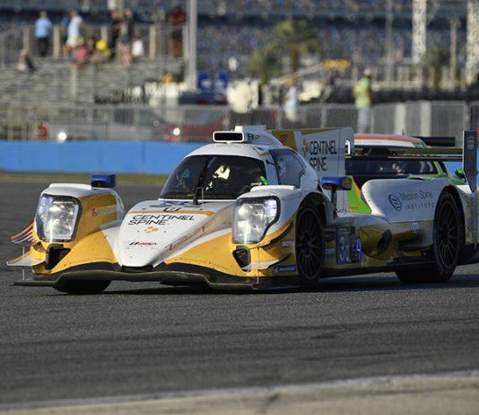Six cars took part in the LMP2 portion fo the Roar Before the 24 test at Daytona Int'l Speedway last week. (IMSA Photo)