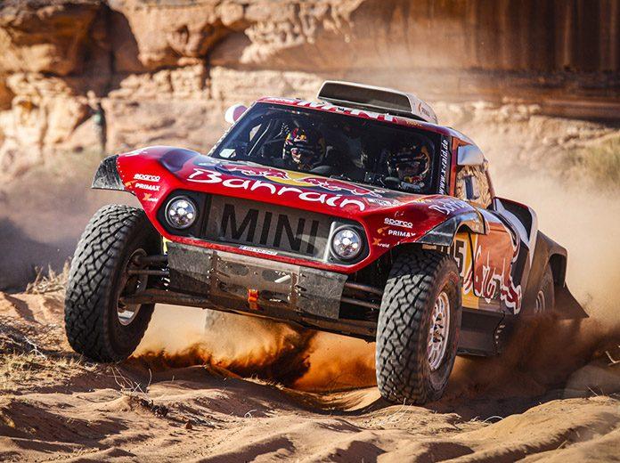 Carlos Sainz padded his lead atop the Dakar Rally standings on Thursday. (Dakar Rally Photo)