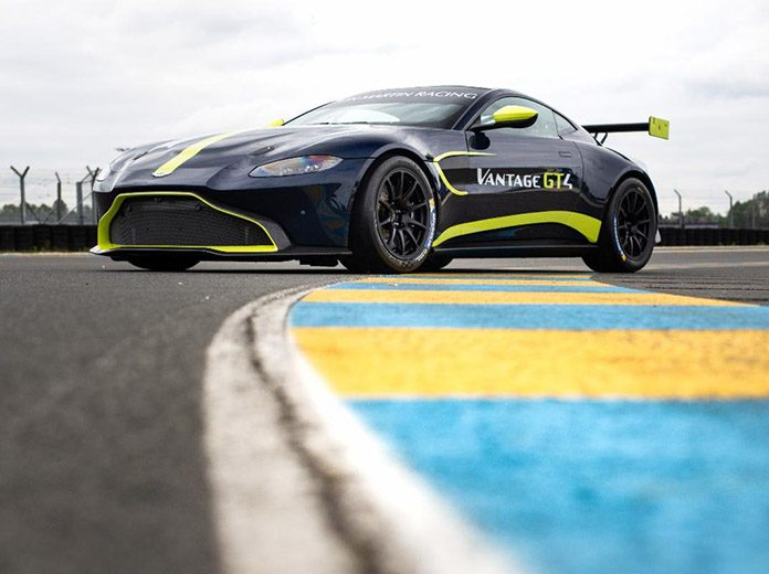 Flying Lizard Motorsports will field the Aston Martin Vantage GT4 in the GT4 America championship.