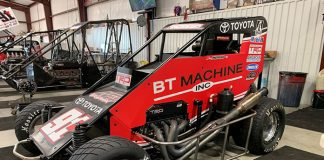 Chris Andrews will drive for Thomas Motorsports during the Chili Bowl next week.