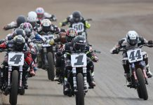 The American Flat Track SuperTwins roster has been announced.