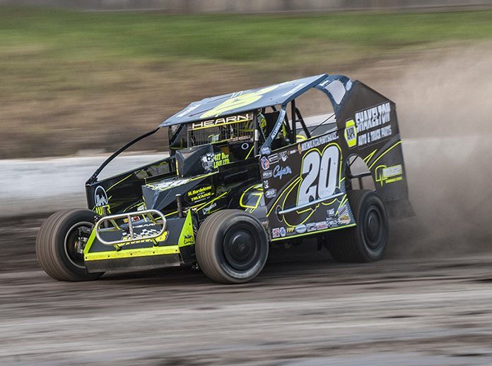 Orange County Fair Speedway's big-block modified division will be sanctioned by DIRTcar in 2020. (OCFS Photo)