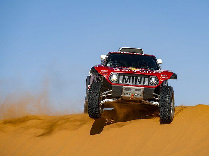 Carlos Sainz captured his third stage victory of the 2020 Dakar Rally on Sunday. (Dakar Rally Photo)