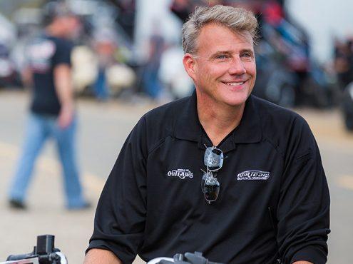 World Racing Group CEO Brian Carter. (Chris Owens Photo)