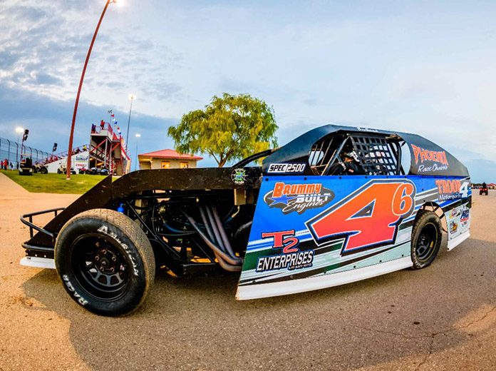 Young USRA B-Mod driver Brice Gotschall of Nevada, Mo., looks to continue his progression this season at Lucas Oil Speedway. (Kenny Shaw photo)
